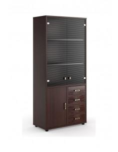 MNZ19350501  Шкаф  для  бумаг  с  кожаными  вставками