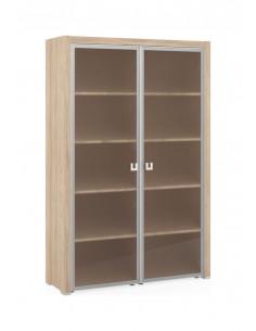 SOL29750401  Шкаф  для  бумаг  со  стеклом